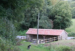 Walk stop at the lavoir